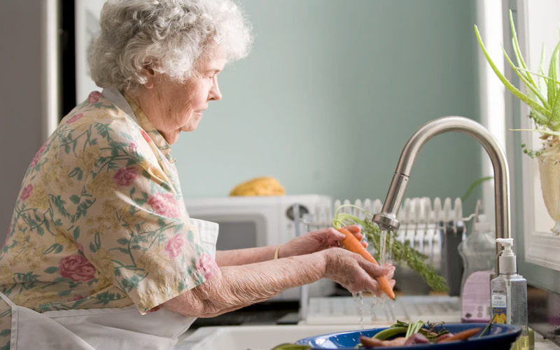 Private caregivers for elderly